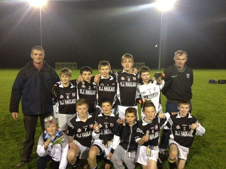 Magheracloone CLG Mhuineachin U13 Football 7aside Floodlight Blitz held in