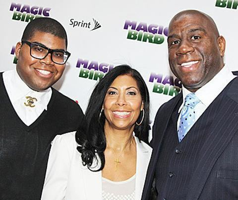 Magic Johnson Magic and Cookie Johnson Urge Gay Son to Stay Away From Reality TV