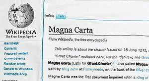 Magna Carta (An Embroidery) Magna Carta An Embroidery Wikipedia