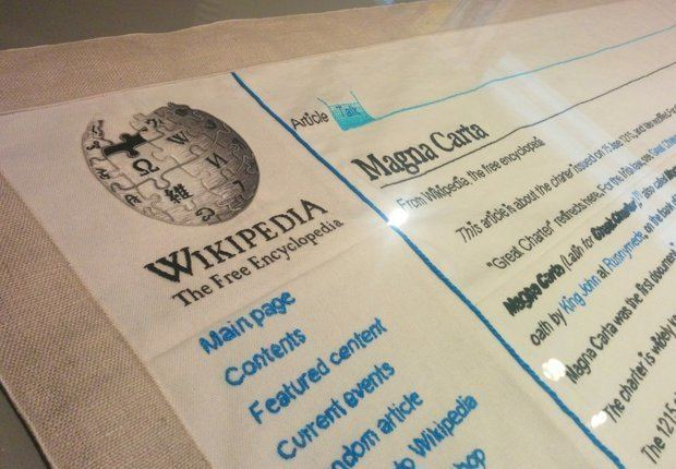Magna Carta (An Embroidery) Magna Carta An Embroidery at the British Library celebrates the