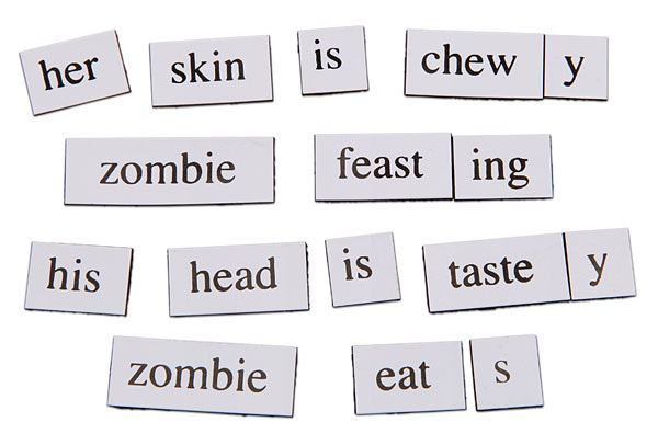 Magnetic Poetry 14 Reasons Why Magnetic Poetry Was The Best