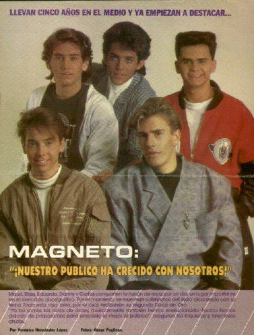 Magneto (band) Famous Latin American Children and Teen Bands from the 1980s hubpages