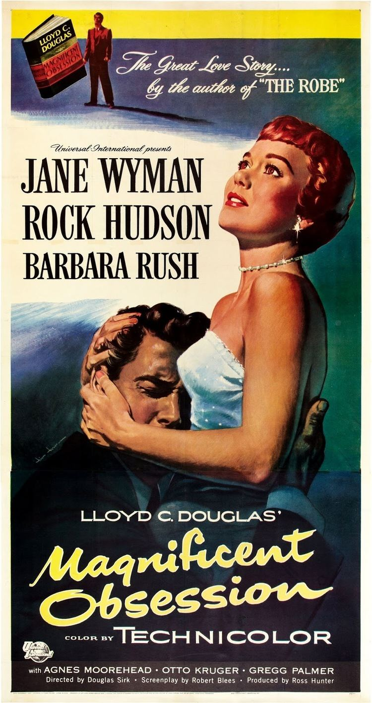 Magnificent Obsession (1954 film) Mark My Words Movie Review Magnificent Obsession starring Rock