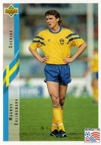 Magnus Erlingmark SWEDEN Magnus Erlingmark 80 Contenders Upper Deck 1994