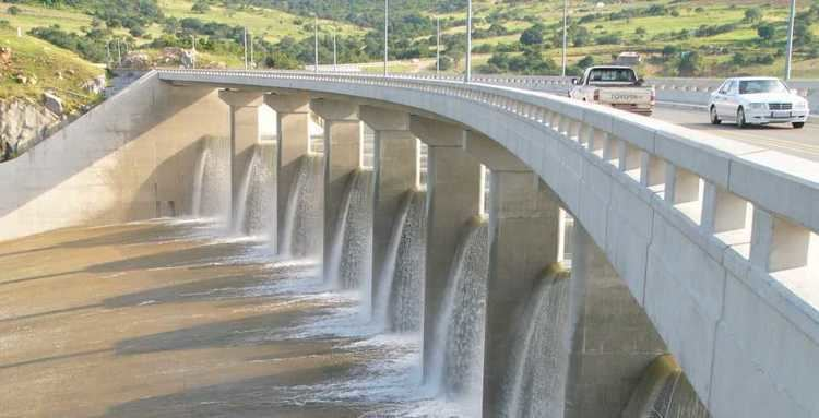 Maguga Dam Dam on the Komati River