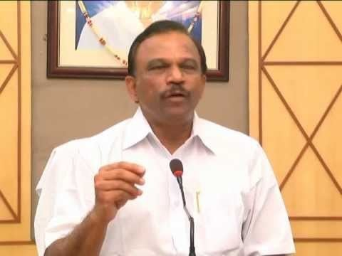 Magunta Sreenivasulu Reddy magunta sreenivasulu reddy talking to media about