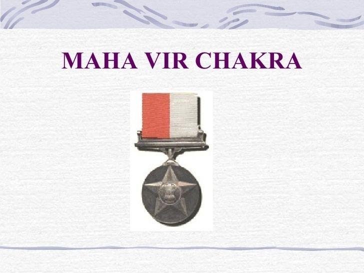 Maha Vir Chakra Kargil War