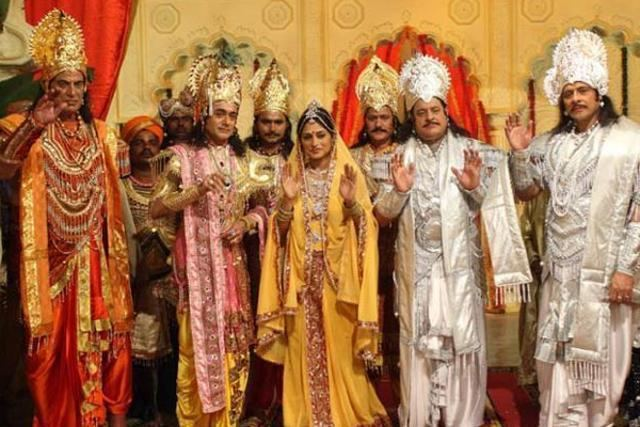 Mahabharat (1988 TV series) Actors talk about what went into making Mahabharat in 1988 tv