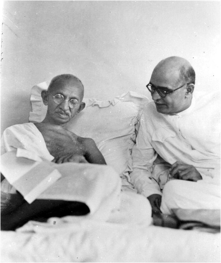 Mahadev Desai Image of Mahadev Desai Mahatma39s shadow My India