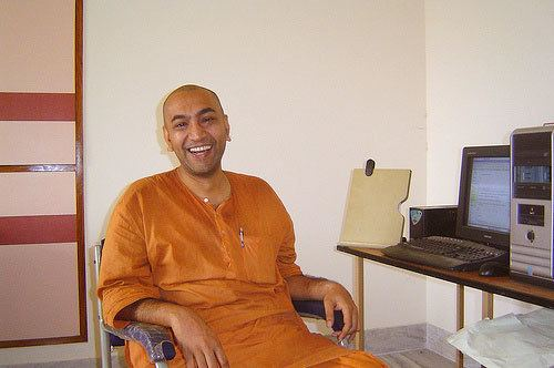 Mahan Mj The Monk Who is Sold on Geometry An Interview with Mahan Maharaj