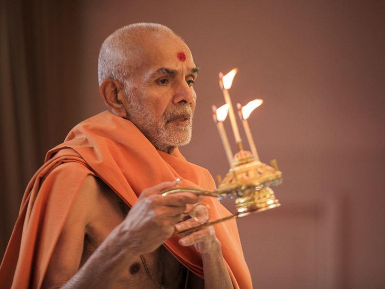 Happy New Year Mahant Swami 76