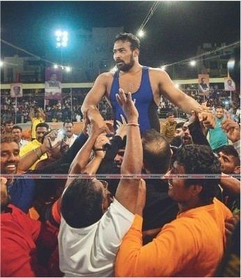 Maharashtra Kesari Choudhary bags Maharashtra Kesri crown for second time defeating