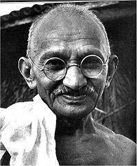 Mahatma Gandhi wwwbiographyonlinenetimages150200pxMKGandhijpg