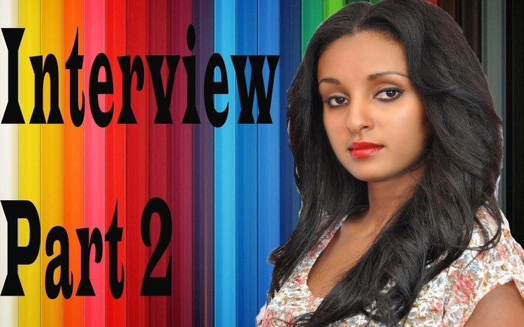 Mahder Assefa Sew Le Sew Drama Actress Mahder Assefa Interview At