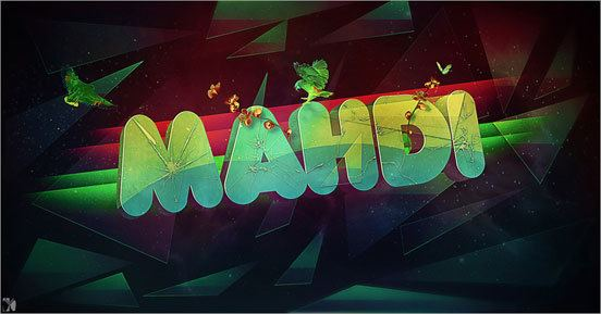 Mahdi Mahdi Fonts Inspirations The Design Inspiration