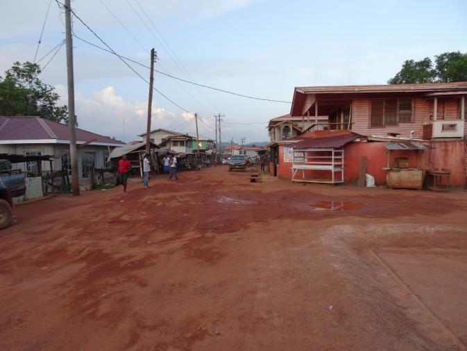 Mahdia, Guyana Bumpy Bus Blog from Mahdia Guyana Lively Adventures Penned From