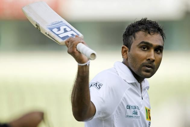 Mahela Jayawardene (Cricketer) playing cricket