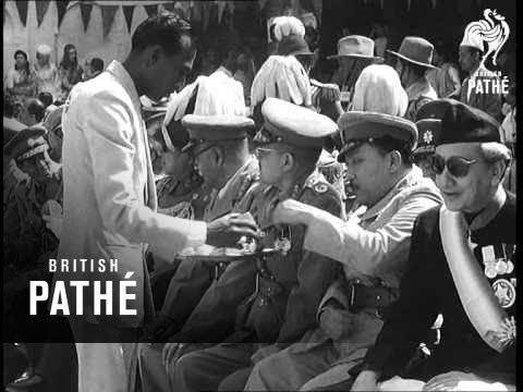 Mahendra of Nepal Selected Originals Nepal Coronation Of King Mahendra 1956 YouTube