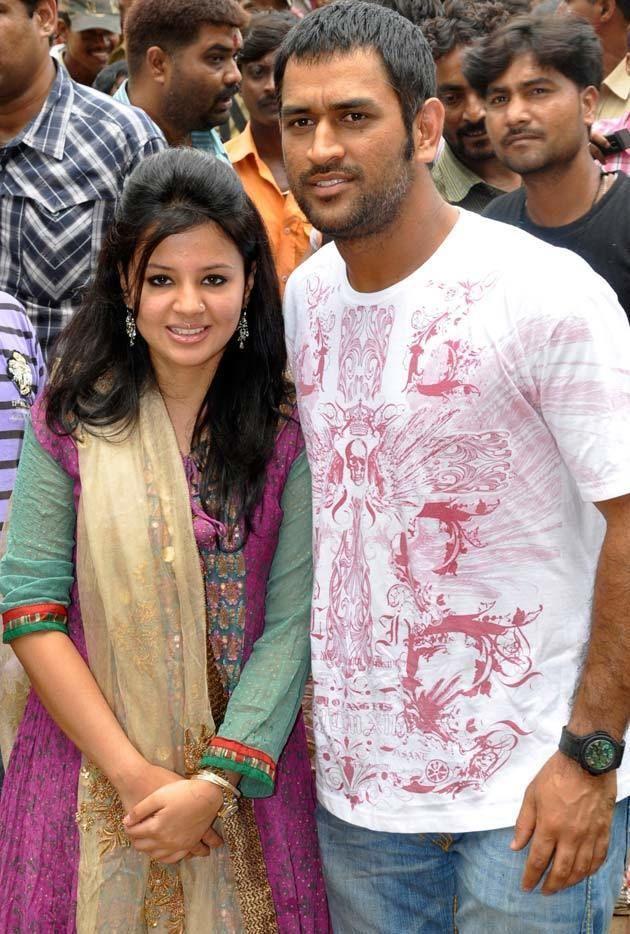 Mahendra Singh Dhoni (Cricketer) family