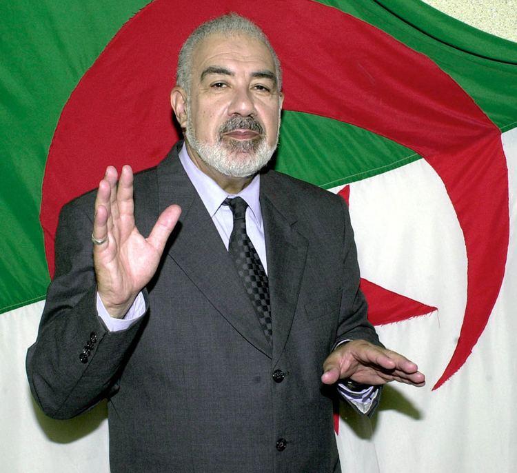 Mahfoud Nahnah Mahfoud Nahnah Personnalits Algriennes Pinterest