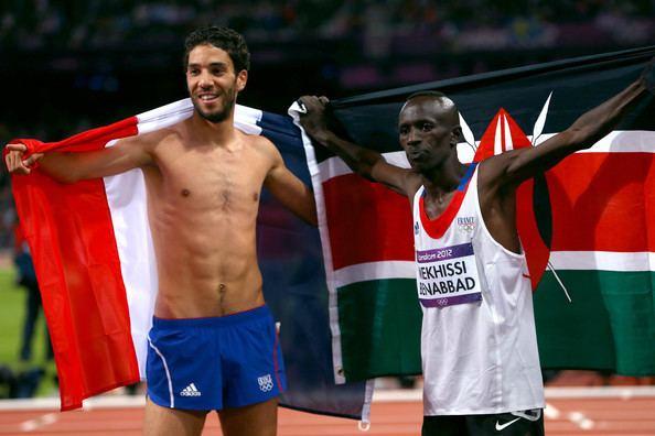 Mahiedine Mekhissi-Benabbad Mahiedine Mekhissibenabbad Photos Olympics Day 9
