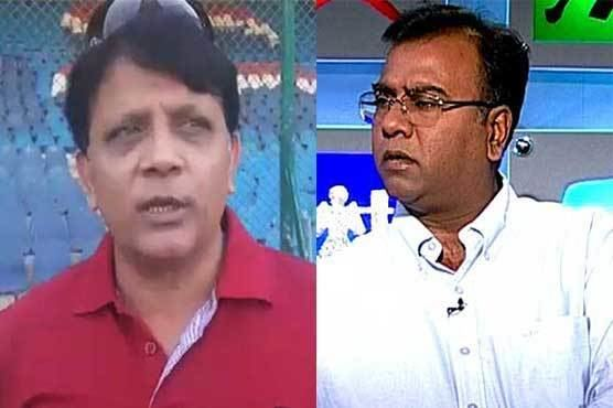 Basit Ali allegedly slaps Mahmood Hamid Cricket Dunya News