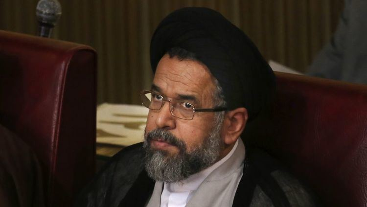 Mahmoud Alavi Iran tips hand about structure of secret services The