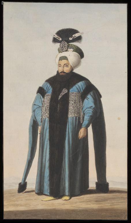 Mahmud II Portrait of Sultan Mahmud II of Turkey Anonymous Greek