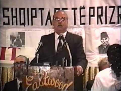 Mahmut Bakalli Politikollogu Mahmut Bakalli 113 vjetori i Lshp es YouTube