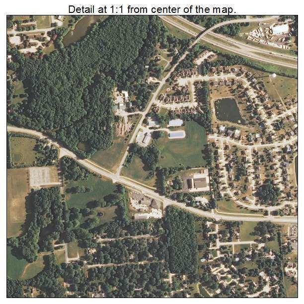 Mahomet, Illinois wwwlandsatcomtownaerialmapillinoisdetailma