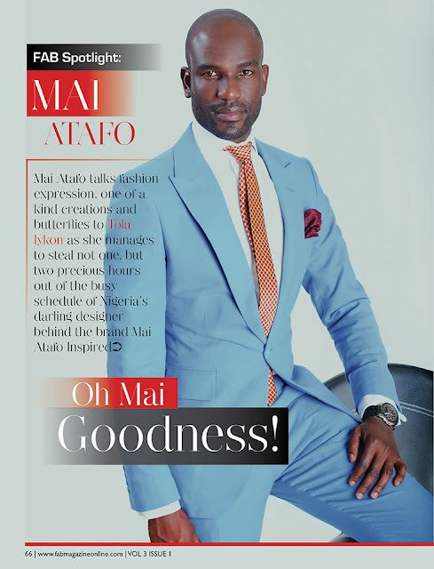 Mai Atafo FAB Magazine August 2012 Mai Atafo Gist Us