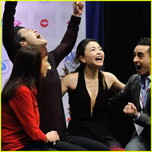Maia Shibutani Alex Maia Shibutani WIN Ice Dance Title at US National
