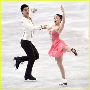 Maia Shibutani Ice Dancer Alex Shibutani Performs With Stomach Illness Still Wows