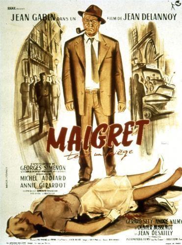 Maigret Sets a Trap (film) Maigret Tend Un Pige 2015 un film de Jean DELANNOY Premierefr