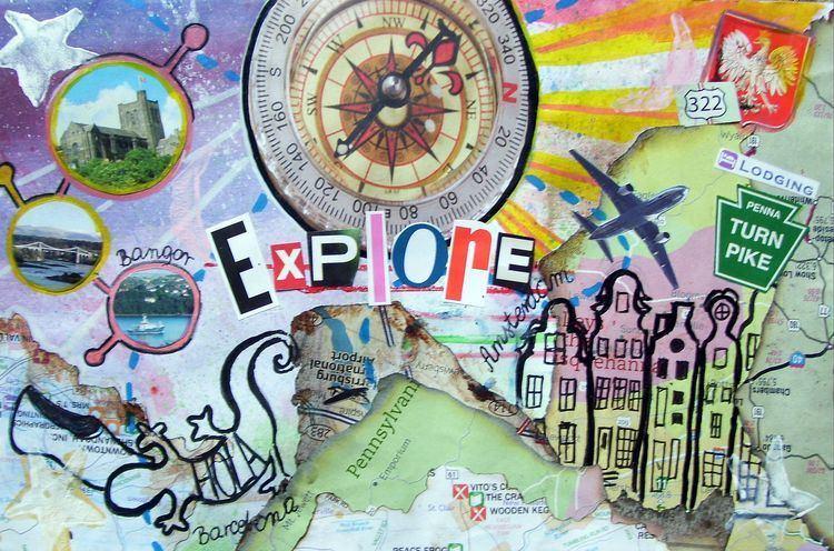 Mail art mail art JNiggelArt