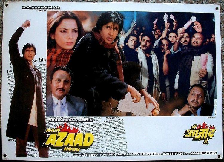 Main Azaad Hoon 1989 DVD9 Untouched NTSC SUBS ALICET DBB for Amitabh