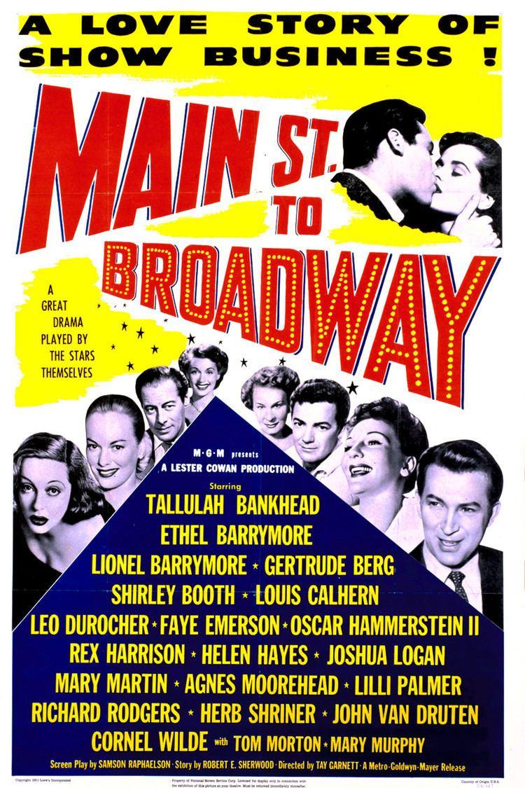 Main Street to Broadway wwwgstaticcomtvthumbmovieposters44914p44914