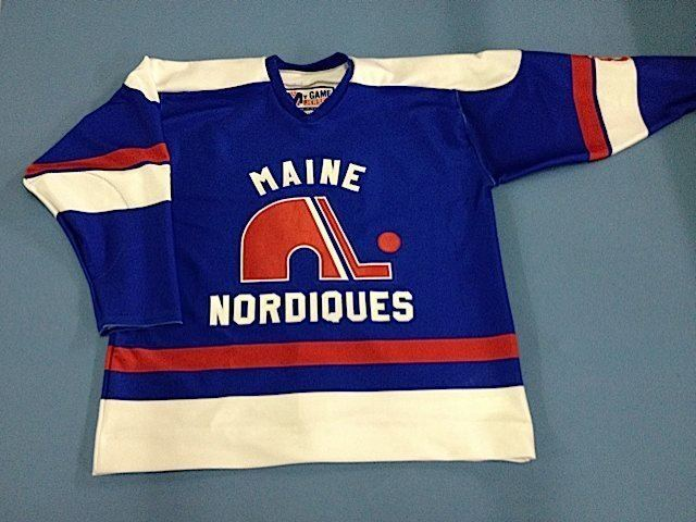 Maine Nordiques Sewing the seeds of my first hockey love Goulet  Communications 71d83460c