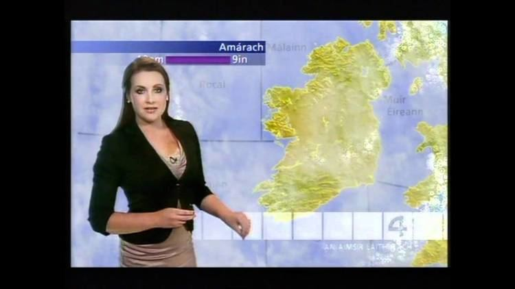 Mairéad Ní Chuaig Mairead Ni Chuaig light golden dress black jacket YouTube