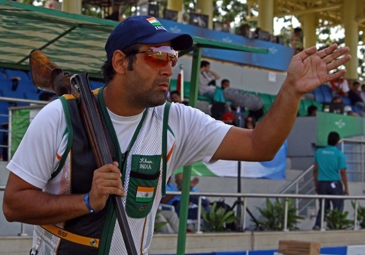 Mairaj Ahmad Khan Indian skeet shooter Mairaj Ahmad Khan books Rio Olympics slot