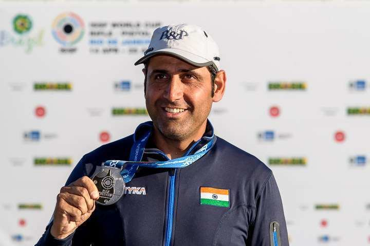 Mairaj Ahmad Khan Rio Olympics 2016 India Shooting Mairaj Ahmad Khan Men39s skeet