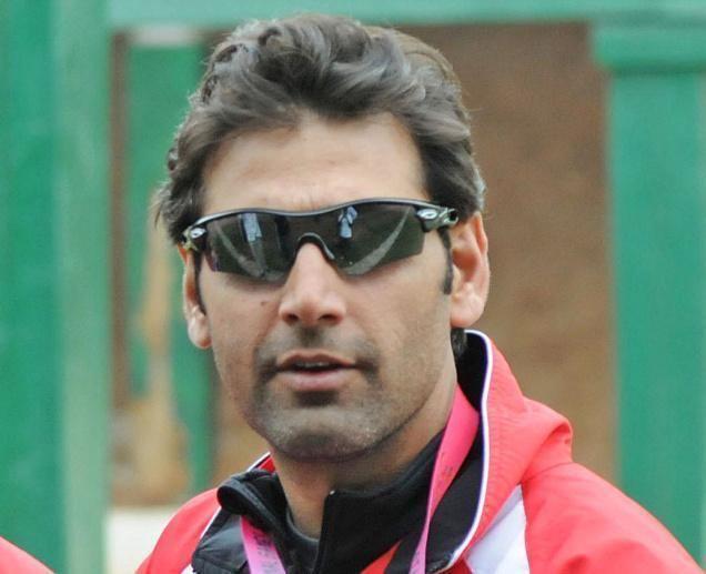 Mairaj Ahmad Khan Mairaj wins India39s first skeet medal at shooting World Cup