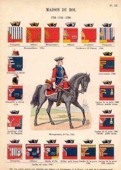 Maison militaire du roi de France httpssmediacacheak0pinimgcom236xd732ba
