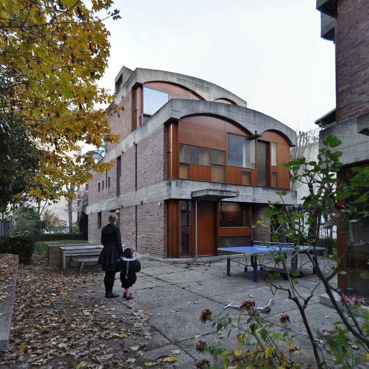 Maisons Jaoul le corbusier maisons jaoul neuillysurseine paris fra Flickr