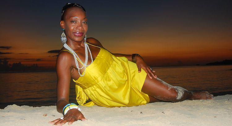 Maizie Williams Maizie Williams of Boney M I miss my old colleagues