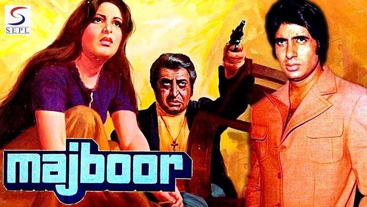 Majboor Amitabh Bachchan Parveen Babi 1974 HD YouTube