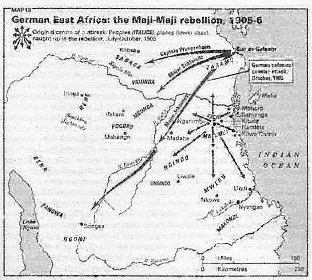 Maji Maji Rebellion The Great Uprising 10 Facts on the Maji Maji Rebellion Atlanta