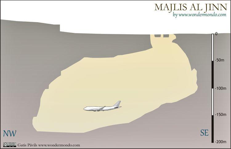 Majlis al Jinn Majlis al Jinn Khoshilat Maqandeli cave Wondermondo