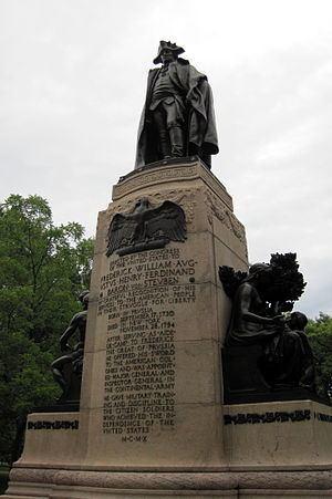 Major General Friedrich Wilhelm von Steuben httpsuploadwikimediaorgwikipediacommonsthu