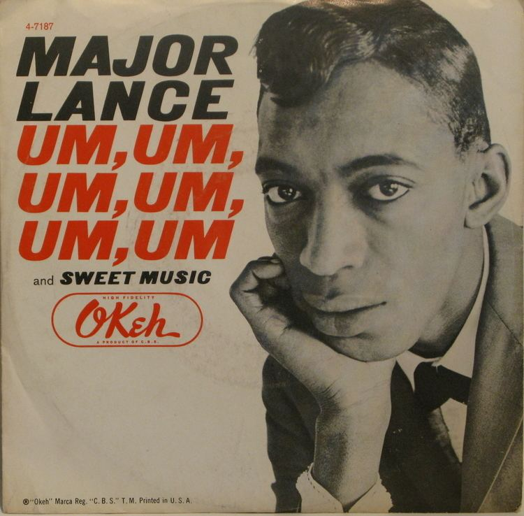Major Lance LPCover Lover Um